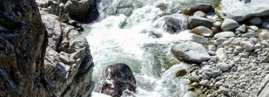 Ghisoni : les kayakistes défient le Fiumorbu et les éléments